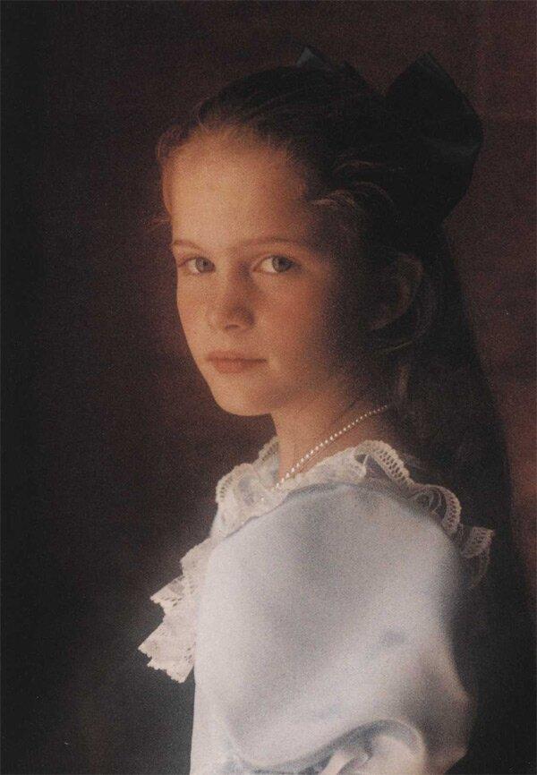 классический детский портрет