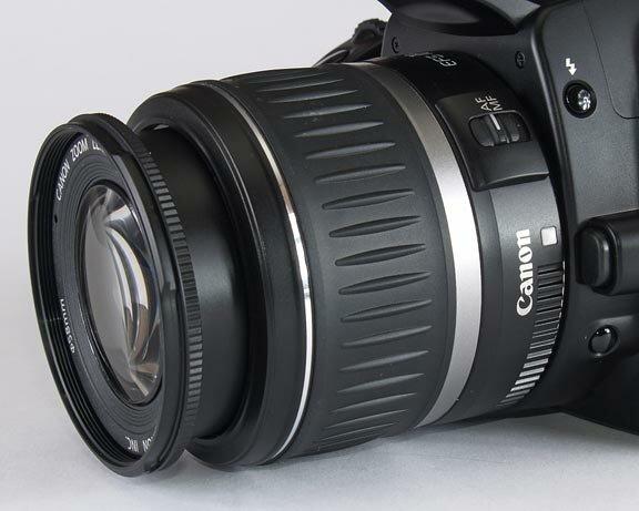Canon EOS 400D - lens