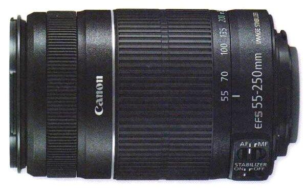 EF-S 55-250 мм f/4-5,6 IS