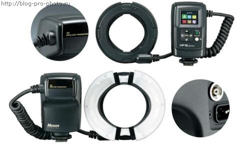 Nissin Macro flash MF18