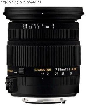 SIGMA 17-50ММ F2.8 ЕХ DC HSM