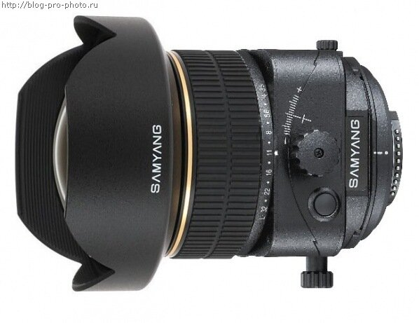 Samyang 24mm f/3.5 Tilt-Shift