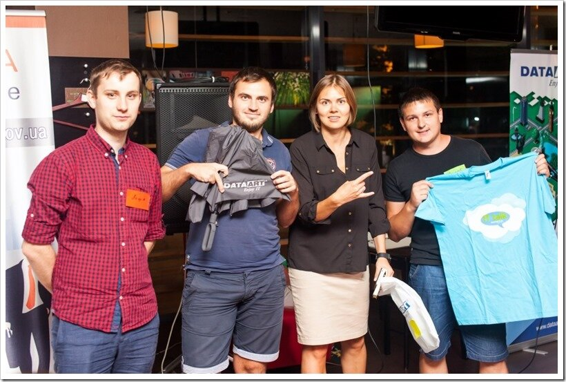 IT Crowd от DataArt в IT Cafe, Харьков, 13.08.2014