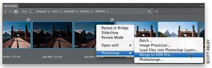 Создание композитных HDR-изображений