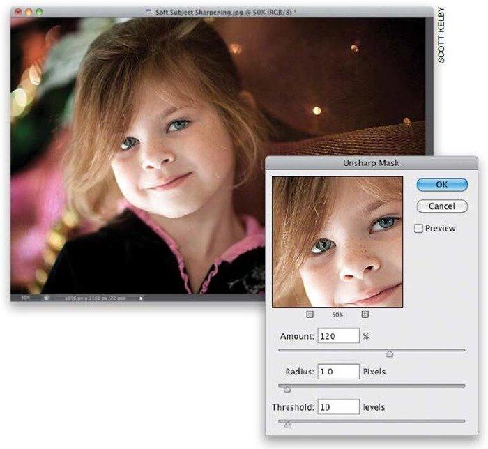 Методы усиления резкости изображения