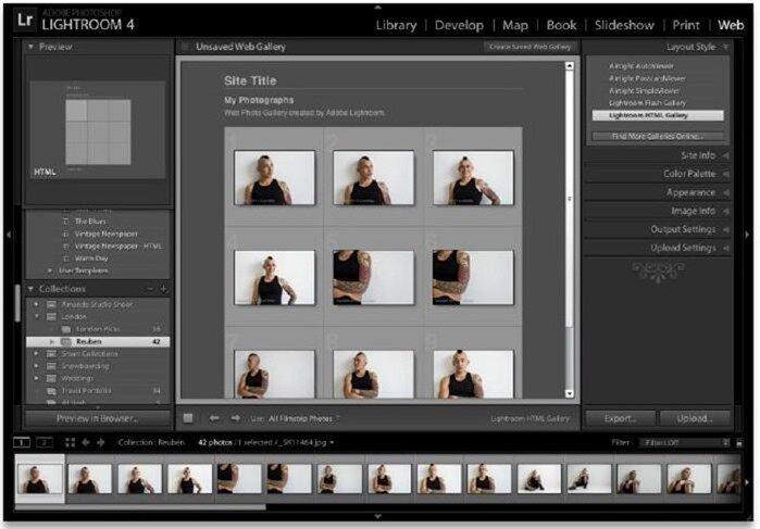 Создание простой фотогалереи