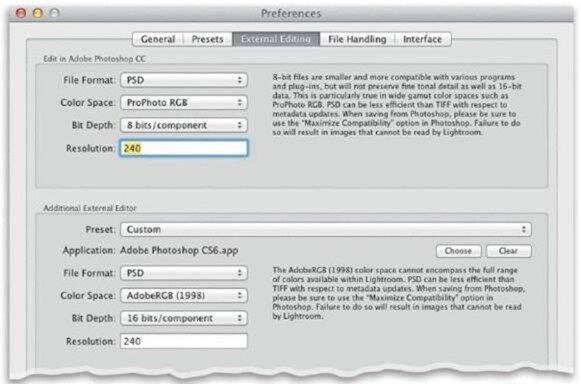 Выбор способа отправки файлов в Photoshop