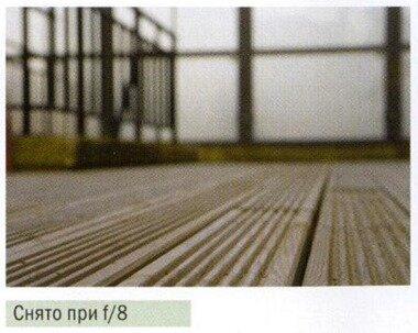 значение диафрагмы f/8