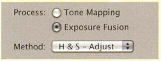 Exposure Fusion в Photomatrix Pro
