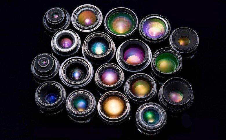 разнообразие объективов