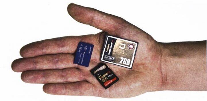 различные виды карт памяти