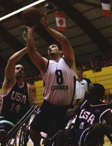 канадский баскетболист Джой Джонсон
