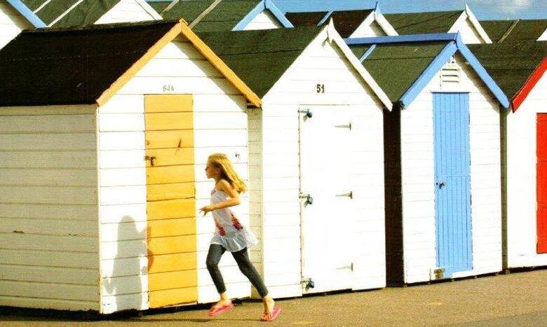 Пляжные домики в районе Торки