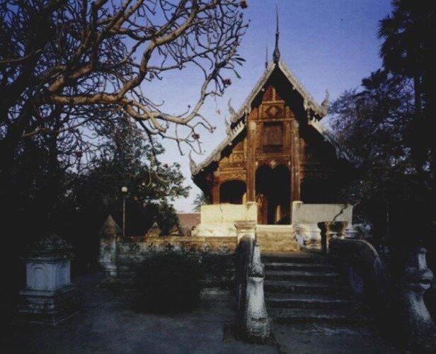 монастырь северного Таиланда