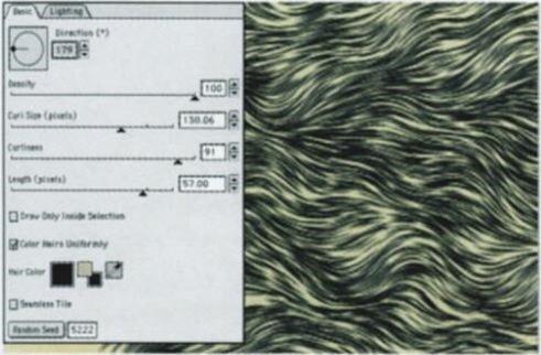 меховая текстура